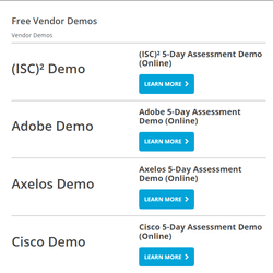 Free IT Training Demos!