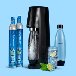 Save up to 50% on outlet items, including sparkling drink mixes, carbonating bottles and machines!