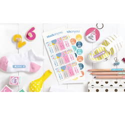 Save up to 60% on sale items, including personalized value packs containing name labels, iron-on labels and bag tags!