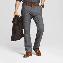 Save up to 50% off men's pants including jeans, trousers, and chinos at Target. Great deals on chino pants.