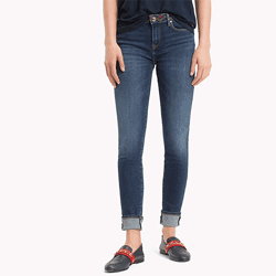 Save up to 35% off women's jeans at Tommy Hilfiger. Great deals on slim fit jeans, skinny jeans, straight fit jeans, mid rise jeans.
