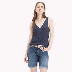 Save up to 50% off women's t shirts and polos at Tommy Hilfiger. Great deals on tees, graphic tees, graphic t shirts.