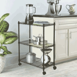 Save up to 75% off kitchen furniture including bar stools, folding trays, tables, and chairs at Walmart