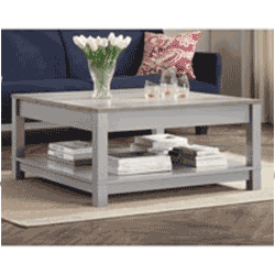 Save up to 60% off living room furniture including couches, chairs, TV stands, and coffee tables at Walmart