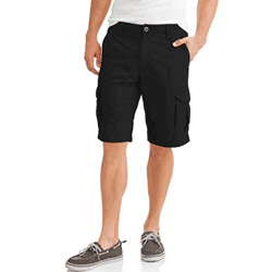 Save up to 80% off men's shorts including cargo shorts, golf shorts, workout shorts, gym shorts at Walmart