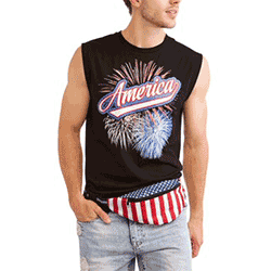 Save up to 70% off men's t-shirts and tank tops at Walmart. Great deals on tanks, graphic tees, t shirts.