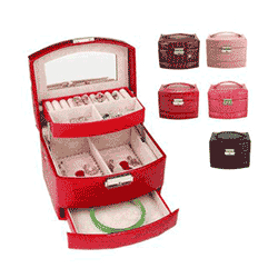 Save up to 70% off women's jewelry boxes at Walmart. Great deals on ring holders, jewelery organizers.