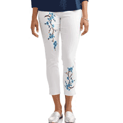Save up to 60% off women's pants and leggings at Walmart. Great deals on womens chinos, capri pants.