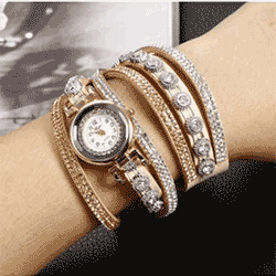 Save up to 70% off women's watches at Walmart. Great deals on silver watches, gold watches, waterproof watches.