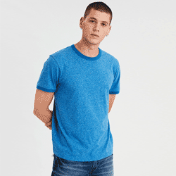 Save up to 60% off men's t shirts at American Eagle. Great deals on  t-shirts, tees, cotton tees, v-necks, v necks, henleys.