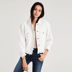 Save up to 65% off women's coats and jackets at American Eagle
