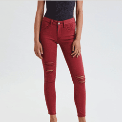 Save up to 60% off women's jeans, skinny jeans, jeggings, and mom jeans at American Eagle