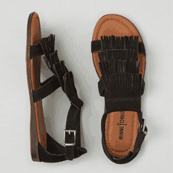 Save up to 60% off women's sandals at American Eagle. Great deals on  strappy sandals, thong sandals, toe ring sandals, .