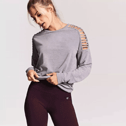 Save up to 80% off women's activewear at Forever 21