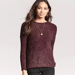 Save up to 70% off women's sweaters at Forever 21