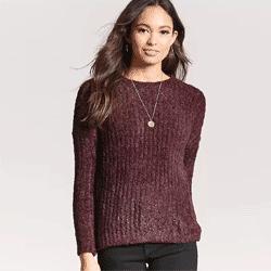 Ahorre hasta un 70% de descuento en los suéteres de las mujeres en Forever 21