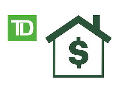 TD銀行の住宅担保ローンと個人ローンの0.25%割引を取得