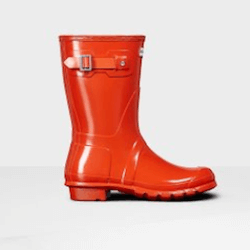 Save up to 50% off women's boots at Hunter. Great deals on rubber boots, rainboots, rain boots, hunter boots.