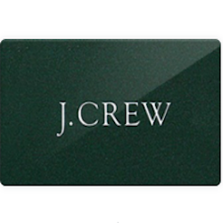 Up to 7% off J. Crew gift cards - use discount card to save even more on J. Crew purchase