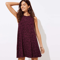 Save up to 80% off women's dresses at Loft. Great deals on  cami dresses, halter dresses, swing dresses, maxi dresses, pocket dresses.