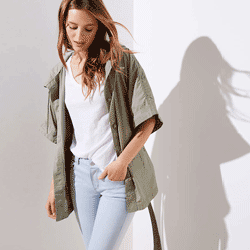 Save up to 80% off women's jackets and coats at Loft. Great deals on  denim jackets, blazers.