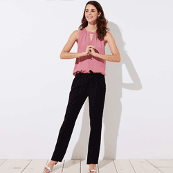 Save up to 85% off women's pants, chinos, and sweatpants at Loft