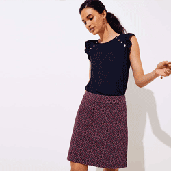 Save up to 80% off women's skirts at Loft. Great deals on  wrap skirts, pencil skirts, ruffle skirts.