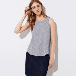 Save up to 80% off women's tops at Loft. Great deals on  blouses, tanks, tank tops, t shirts, tees, t-shirts.