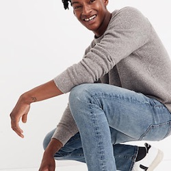 Up to 70% off Men's Sale items with Madewell's generous discounts on Jeans, Shirts & more!