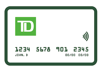 Instantly replace a lost or worn debit card by visiting a TD Bank location near you.
