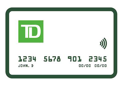 เปลี่ยนบัตรเดบิตที่สูญหายหรือชำรุดทันทีโดยไปที่สถานที่ตั้งของธนาคาร TD ที่อยู่ใกล้คุณ