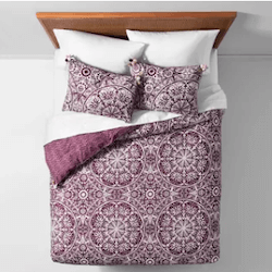 Save up to 25% off bedding at Target. Great deals on comforters, mattress pads, sheets, duvets, and more.
