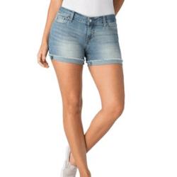 Save up to 80% off women's shorts, denim shorts, drawstring shorts, and bermuda shorts at Walmart