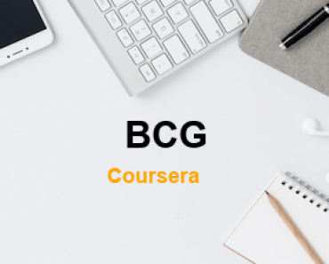 BCG Free Online Education