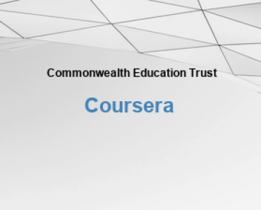 Commonwealth Education Trust Free Online Education