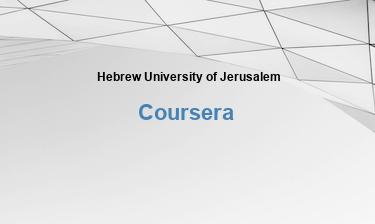 Hebräische Universität Jerusalem Kostenlose Online-Ausbildung