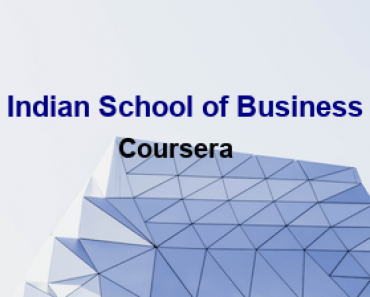 Indian School of Business Free Online Education