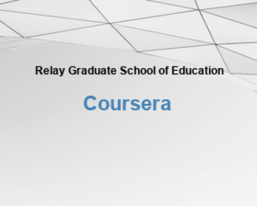 Relay Graduate School of Education Free Online Education