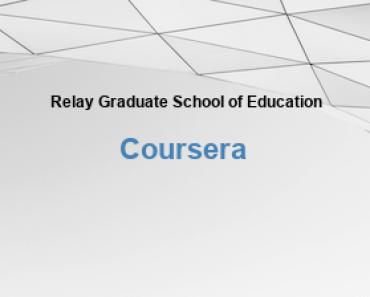 Relay Graduate School of Education Kostenlose Online-Bildung