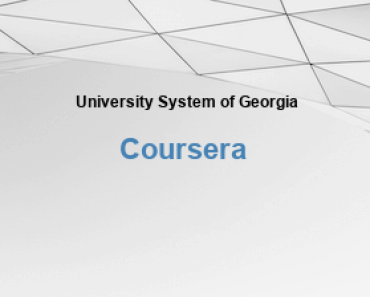 University System of Georgia Free Online Education