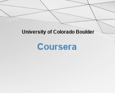 University of Colorado Boulder Free Online Education